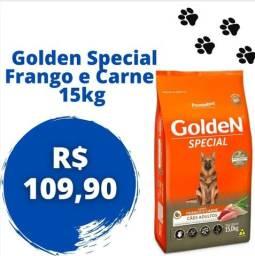 Promoção Ração Golden Special 15kg e Mini Bits 3kg e 15kg FRETE GRÁTIS