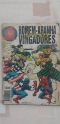 Grandes Heróis Marvel 1ª Série - n° 44 - Editora Abril