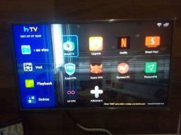 TV LG 43 ultra hd 43uk6520 tela quebrada