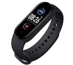 M5 Smartband Bluetooth 4.2 Com Monitor De Pressão Sanguínea E Frequência Cardíaca