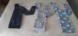 Lotinho  de roupa  menino (tamanho  na descrição)