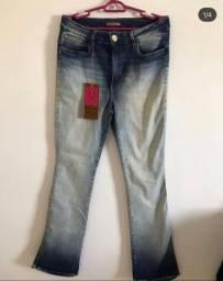 Calça jeans, marca visual jeans. Nova!