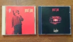 Pearl Jam   lote com 2 Maxi CDs Singles Go & Daughter