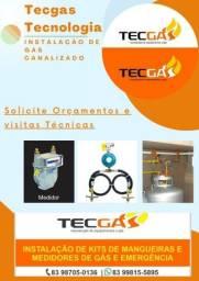 Instalação de Gás Canalizado em Geral