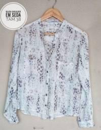Camisa social feminina tamanho 38