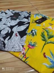 Camisas Floriadas