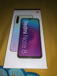 Vendo caixa do Redmi Note 8
