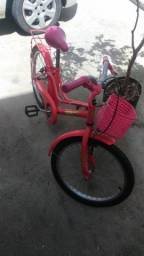 Bicicleta infantil aro 20 semi nova