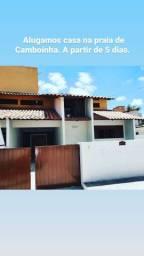Aluguel para temporada de veraneio. Casa/dúplex em Camboinha.
