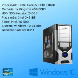 CPU - Intel Core I5-3330 3.0GHz - 4GB - SSD 240GB