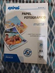 Papel fotográfico premium Matte