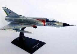 Avião colecionavel caça Mirage FAB