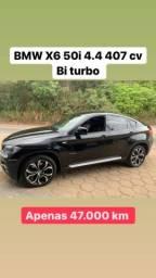 BMW X6 2009/10 50i 4.4 407 cv top de linha
