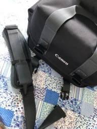 Bolsa + Porta Lente e Carregador - Canon (Novo)