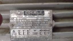 Motor trifásico de baixa 12.5 cv