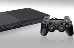 LOCAÇÃO | Playstation 2 - 02 Controles e 02 Memory Card