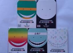 Mangá assassination classroom 2 5 10 11 12