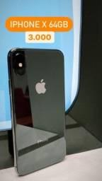 VENDE-SE IPHONE X 64GB 2600,00