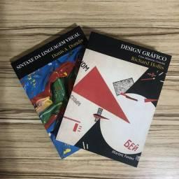 2 livros Design Gráfico