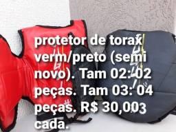 - Protetor torax Hobbies Lazer Esportes Lutas