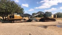 Título do anúncio: Sucata Escavadeira John Deere 210G para retirada de peças