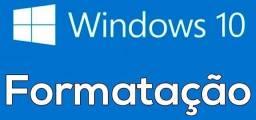formatação profissional windows 10 home