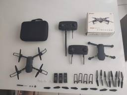 Drone E58 mais case e acessórios