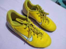 Chuteira oficial tênis Nike Neymar Jr infantil