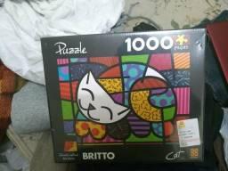Quebra cabeças 1000 peças novo