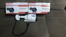 2 Câmeras analógicas com resolução HD - Lente de 12mm