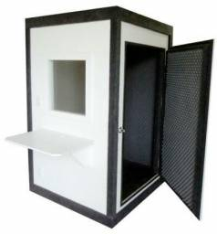 Caixa acústica para audiometria