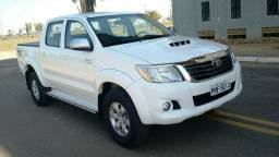 Hilux C. Dupla SRV 3.0 4X4 Diesel Branca - 2015