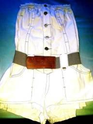 Macaquinho jeans morena rosa