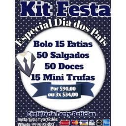 Kit festa $90,00