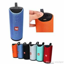 Caixa Som TG 15w Bluetooth P2 Cartão SD Pen drive Radio FM Portable Speaker Prova D'agua