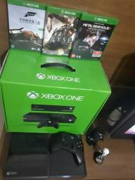 Console Xbox One 500Gb + Kinect + 3 Jogos - Oficial Brasil