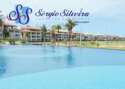 Golf Ville Resort Residence Cobertura à venda mobiliada Porto das Dunas