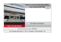Sala comercial Edifício Meridian Office / Trindade