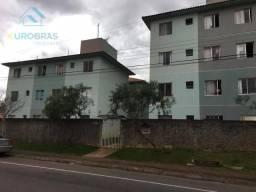 Apartamento com 2 dormitórios à venda, 48 m² por r$ 149.000 - sítio cercado - curitiba/pr