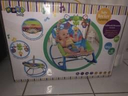 Cadeira De Descanso bebé ate 18 kg, rosa lacrada