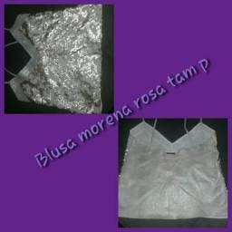 Blusa linda Morena Rosa p