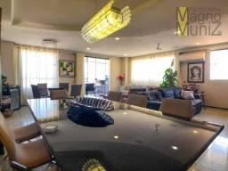 Edifício abarana - apartamento todo projetado com 3 quartos à venda, 175 m² por r$ 650.000