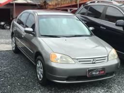 Oportunidade Honda Civic Abaixo da Fipe - 2003