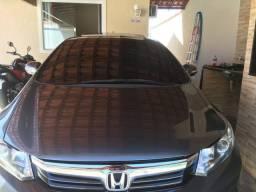 Vendo Honda civic exs top de linha muito bem conservado gnv colocado em janeiro desse ano - 2013