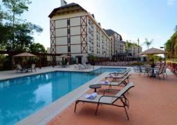 Apartamento tipo flat no Hotel Bristol Vista Azul- frente para Pedra Azul