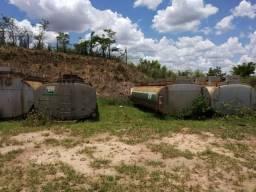 Tanques de 25 mil litros combustível água veneno tanque
