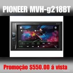 Dvd pioneer G218bt lacrado $550.00 á vista