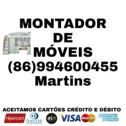 Montador de móveis aceitamos cartão crédito e débito