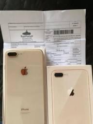 Iphone 8 Plus - Novo (Vendo ou Troco)