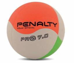 Bola Penalty Volei 7.0 PRO 8 bco lrj vrd s c dffc0423f3a0f